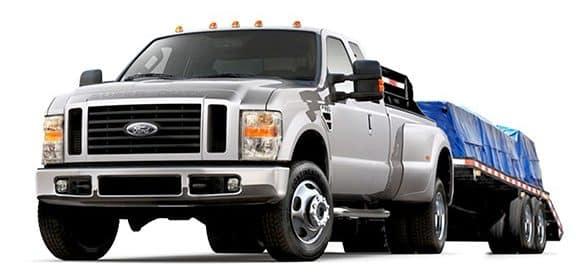 Hotshot truck