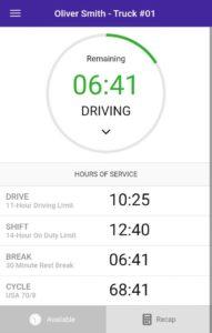 truck log book app