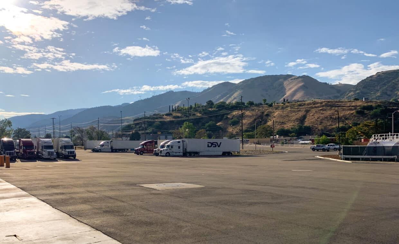 trucks on parking