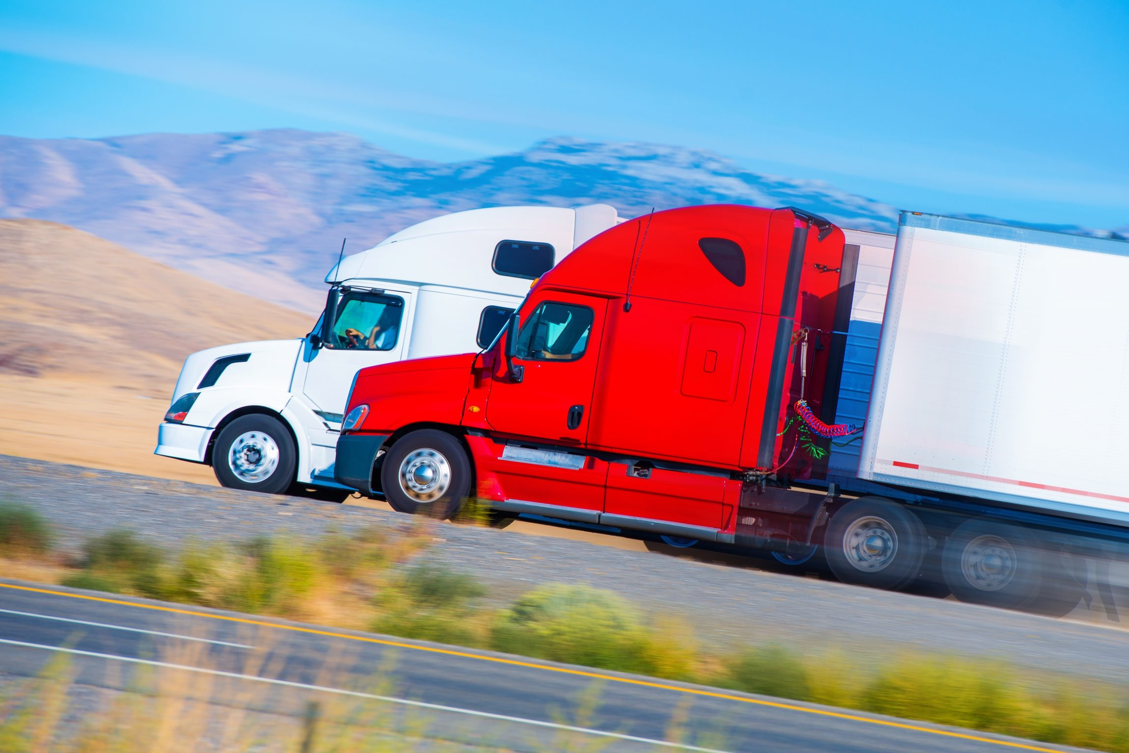 two american trucks