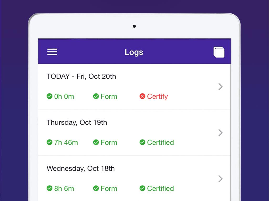 HOS 247 Elog App
