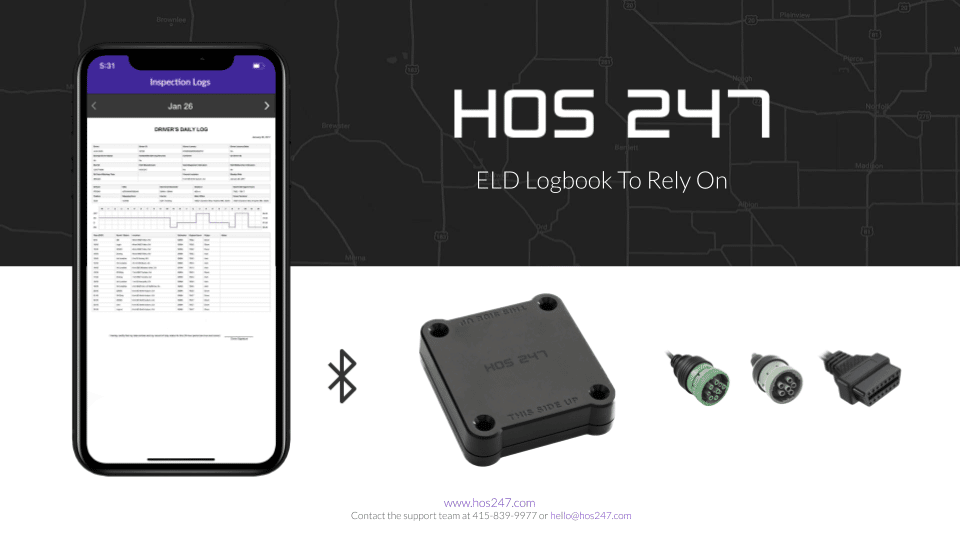 HOS247 app and device