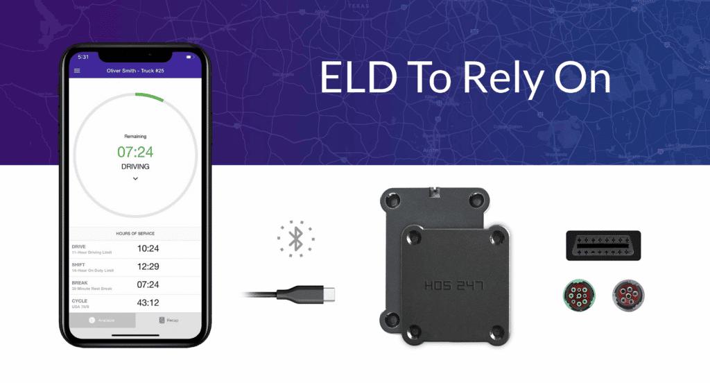 HOS247 new ELD device