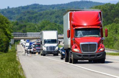 fleet of trucks