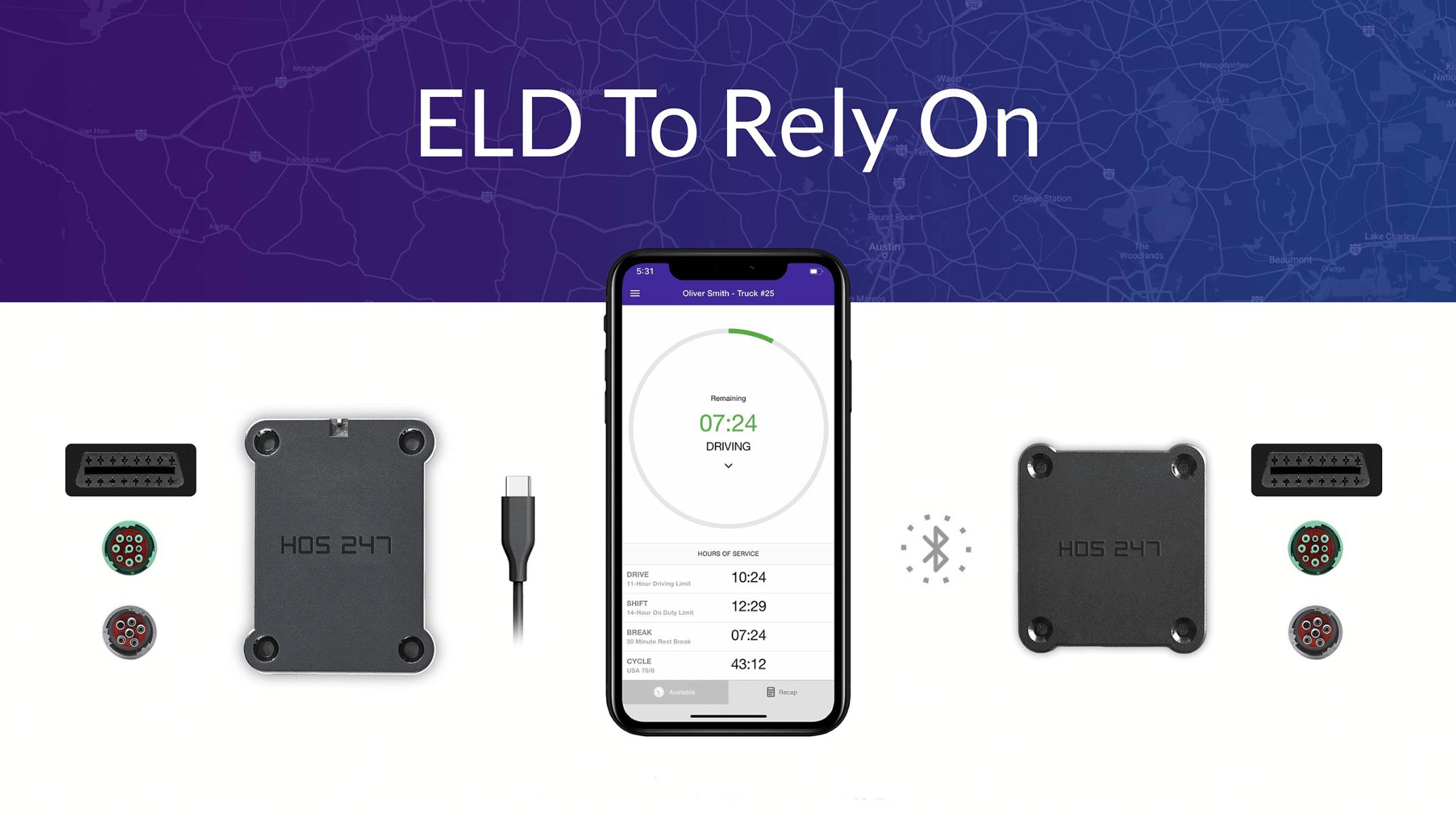 HOS 247 ELD devices