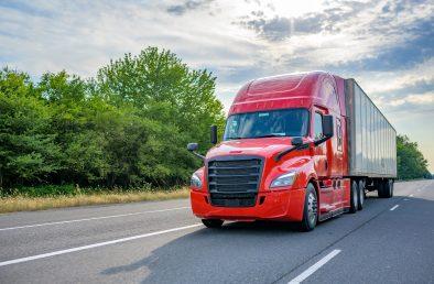 heavy semi truck