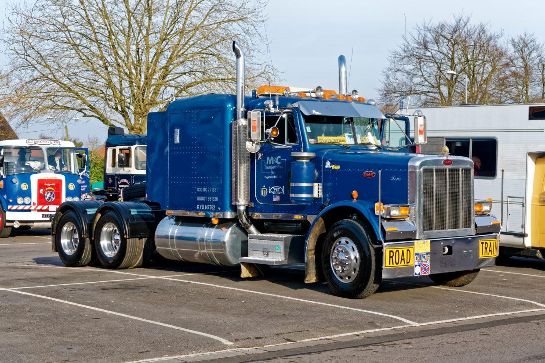 big truck on parking