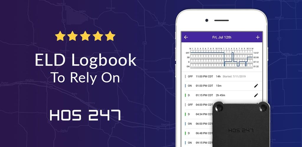 HOS247 eld logbook